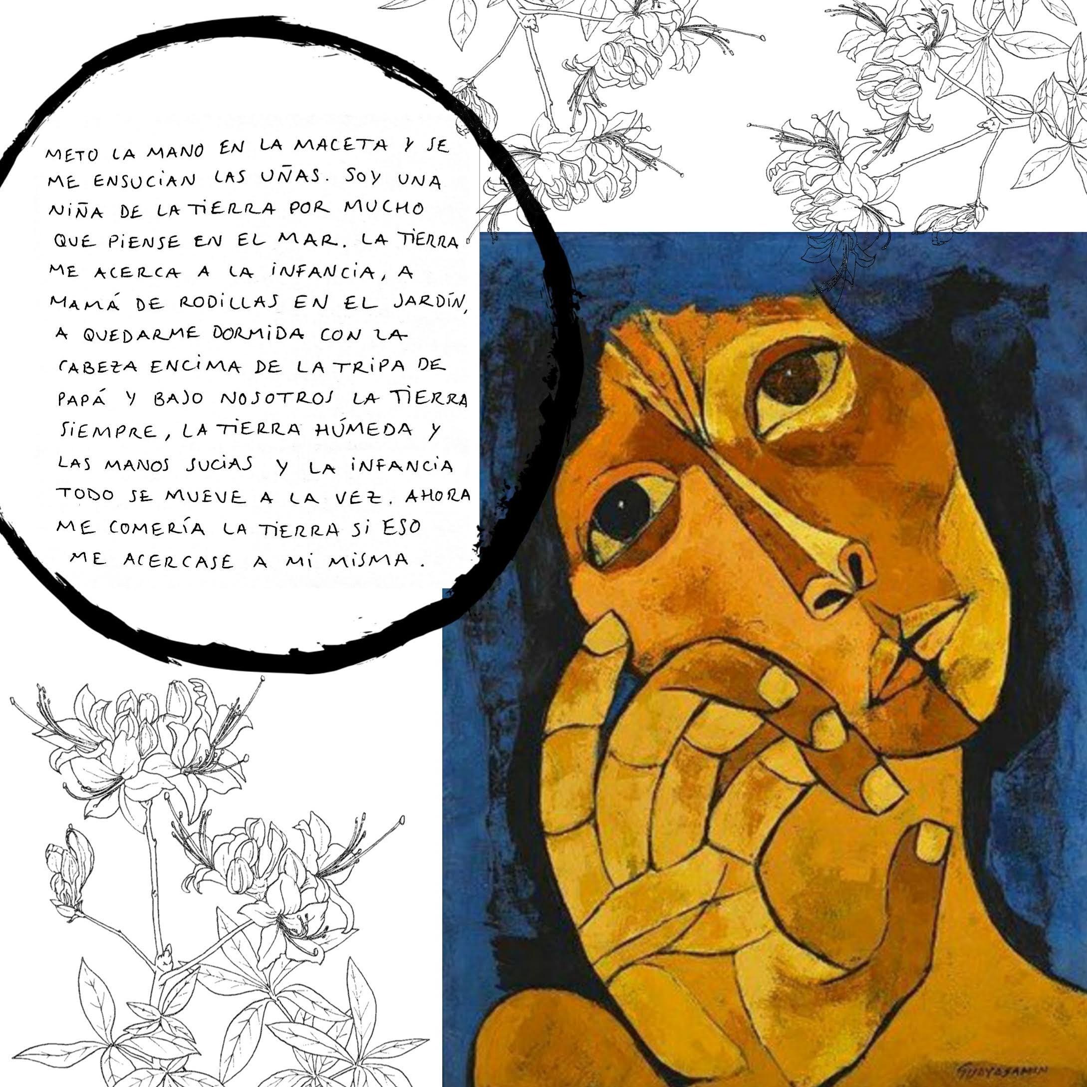 Sara Castro's poem 'Meto la mano...'